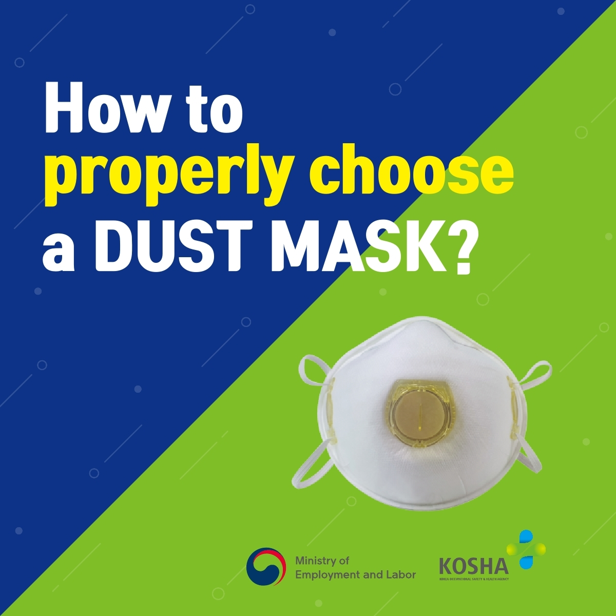 KOSHA_How to wear mask in the right way