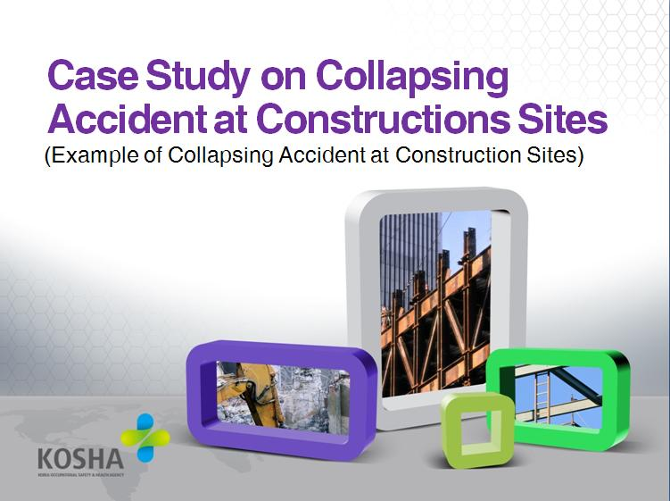 Teaching plan PPT on preventing collapse accidents during construction 건설업 붕괴재해예방 교안PPT